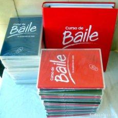 Libros de segunda mano: CURSO DE BAILE - 33 DVDS + ARCHIVADOR FICHAS + REGALO APARATO DVD-VIDEO - VER DESCRIPCIÓN Y FOTOS. Lote 215929843