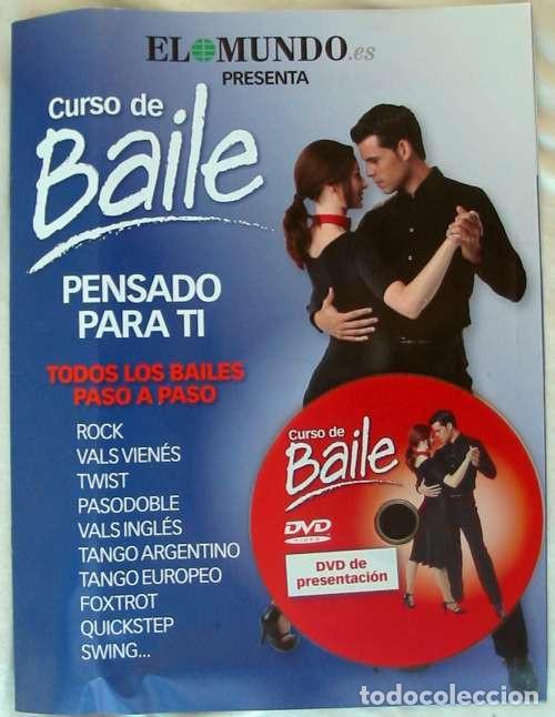 Libros de segunda mano: CURSO DE BAILE - 33 DVDS + ARCHIVADOR FICHAS + REGALO APARATO DVD-VIDEO - VER DESCRIPCIÓN Y FOTOS - Foto 3 - 215929843