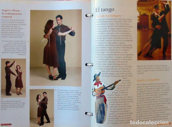 Libros de segunda mano: CURSO DE BAILE - 33 DVDS + ARCHIVADOR FICHAS + REGALO APARATO DVD-VIDEO - VER DESCRIPCIÓN Y FOTOS - Foto 5 - 215929843