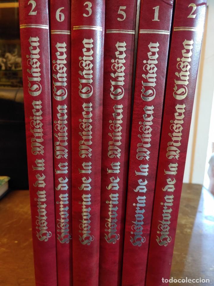 HISTORIA DE LA MUSICA CLASICA. COMPLETA 6 TOMOS. EDITORIAL PLANETA. ILUSTRADOS, PYMY 21 (Libros de Segunda Mano - Bellas artes, ocio y coleccionismo - Música)