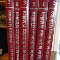 Libros de segunda mano: HISTORIA DE LA MUSICA CLASICA. COMPLETA 6 TOMOS. EDITORIAL PLANETA. ILUSTRADOS, PYMY 21. Lote 217713771