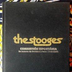 Libros de segunda mano: JAIME GONZALO . THE STOOGES. COMBUSTIÓN ESPONTÁNEA. Lote 217814243