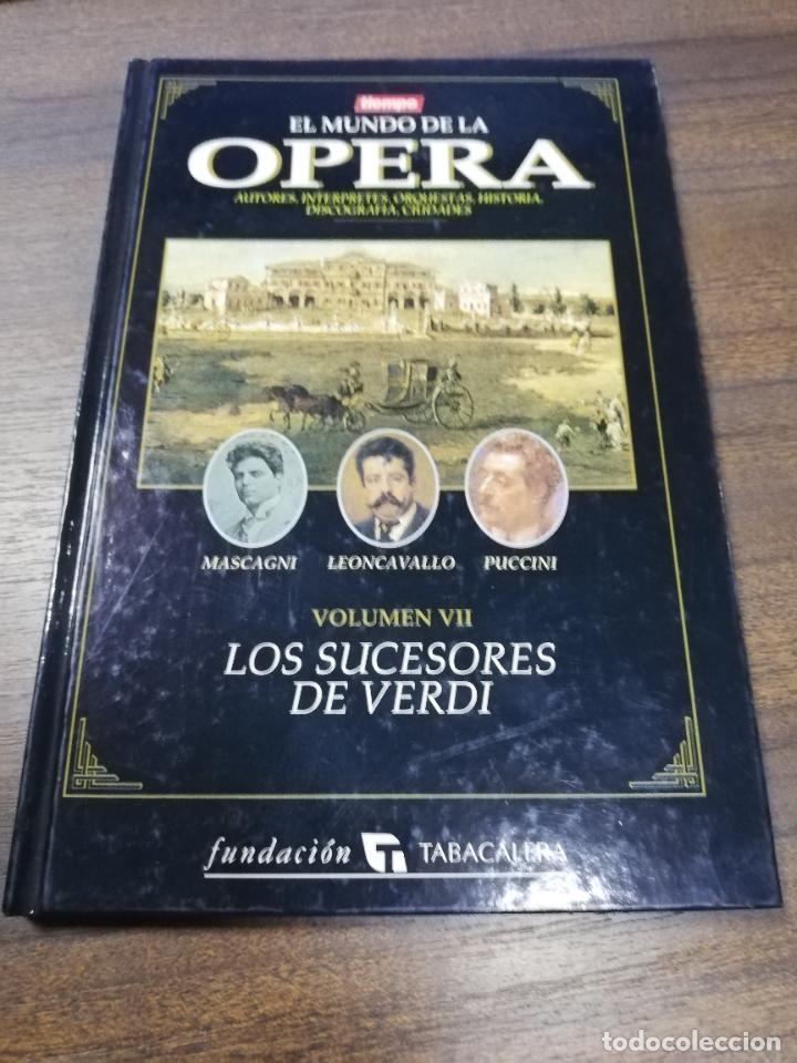 EL MUNDO DE LA OPERA. MASCAGNI, LEON CAVALLO, PUCCINI. 1993. (Libros de Segunda Mano - Bellas artes, ocio y coleccionismo - Música)