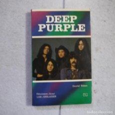 Libros de segunda mano: DEEP PURPLE - DANIEL TUBAU - EDICIONES JÚCAR LOS JUGLARES - 1986. Lote 221570895