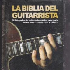 Libros de segunda mano: LA BIBLIA DEL GUITARRISTA. Lote 221624643
