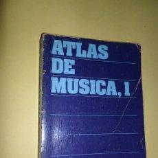 Libros de segunda mano: ATLAS DE MÚSICA, 1, ED. ALIANZA ATLAS. Lote 221812325