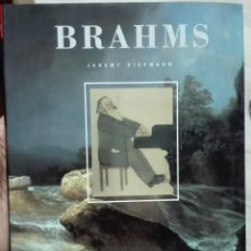 Libros de segunda mano: JEREMY SIEPMANN. BRAHMS. 1997. Lote 222709952