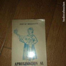 Libros de segunda mano: APROXIMACIÓN AL LENGUAJE MUSICAL DE J. TURINA. JOSE M.ª BENAVENTE.. Lote 222738708