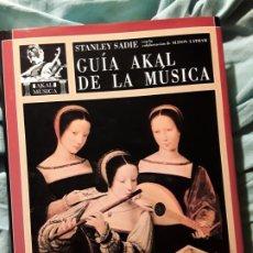 Libros de segunda mano: GUIA AKAL DE LA MÚSICA, DE STANLEY SADIE. MAGNÍFICO ESTADO.. Lote 222802202