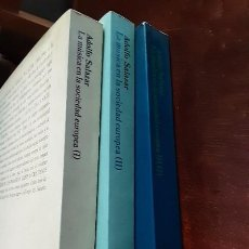 Libri di seconda mano: LA MÚSICA EN LA SOCIEDAD EUROPEA - ADOLFO SALAZAR - TOMOS I, II Y III(2) - ALIANZA MÚSICA. Lote 222831025