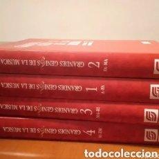 Libros de segunda mano: GRANDES GENIOS DE LA MUSICA - SARPE -1992. Lote 222949232