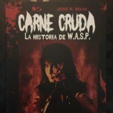 Livres d'occasion: CARNE CRUDA : LA HISTORIA DE WASP DE JOSÉ ROJO ED QUARENTENA ( 2014 ). Lote 223827243