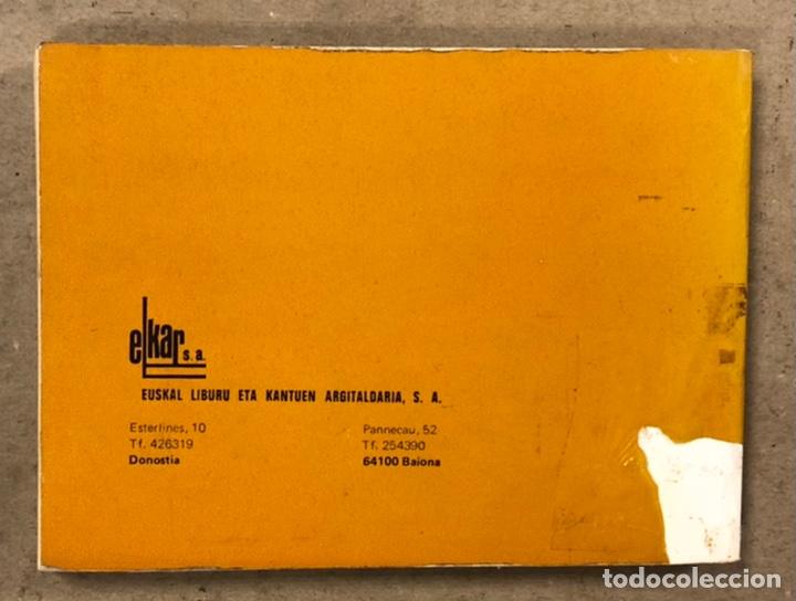 Libros de segunda mano: KANTUZ, RECUEIL DE 120 CHANSONS POPULAIRES BASQUES. PAUL ETCHEMENDY et PIERRE LAFITTE. ELKAR 1980. - Foto 9 - 224856485
