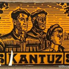 Libros de segunda mano: KANTUZ, RECUEIL DE 120 CHANSONS POPULAIRES BASQUES. PAUL ETCHEMENDY ET PIERRE LAFITTE. ELKAR 1980.. Lote 224856485