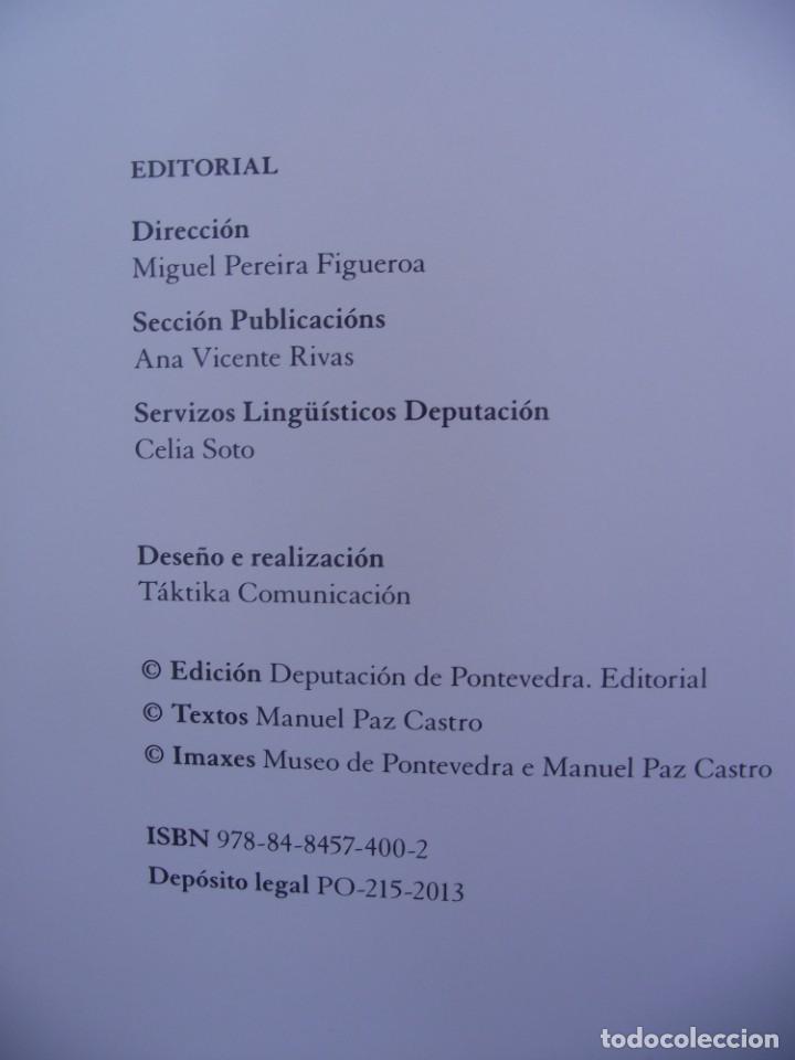 Libros de segunda mano: O CEGO DE PADRENDA. MANUEL PAZ CASTRO. DEPUTACION DE PONTEVEDRA, 2013 - Foto 3 - 227095345
