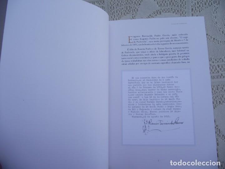 Libros de segunda mano: O CEGO DE PADRENDA. MANUEL PAZ CASTRO. DEPUTACION DE PONTEVEDRA, 2013 - Foto 5 - 227095345