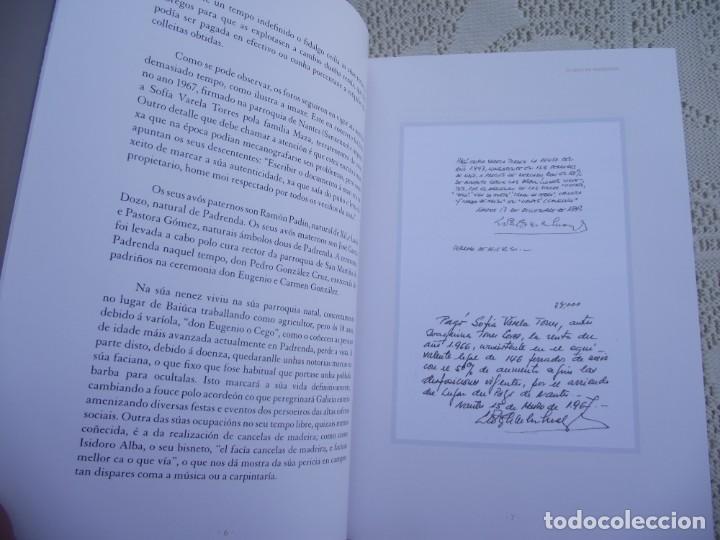 Libros de segunda mano: O CEGO DE PADRENDA. MANUEL PAZ CASTRO. DEPUTACION DE PONTEVEDRA, 2013 - Foto 6 - 227095345