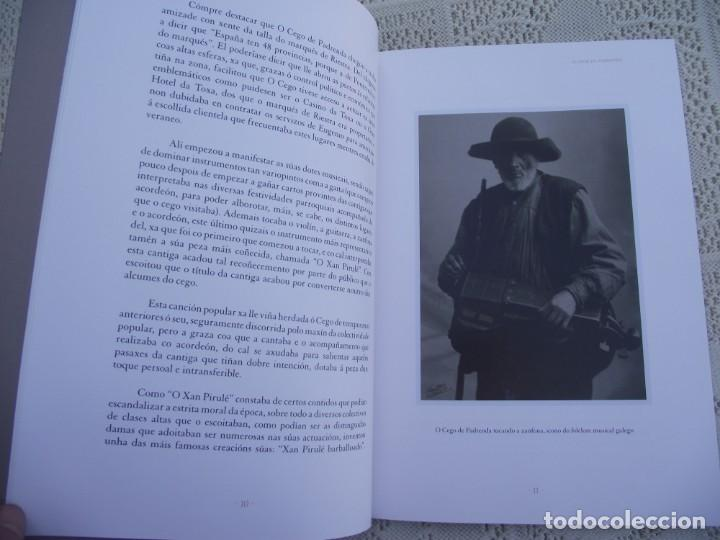 Libros de segunda mano: O CEGO DE PADRENDA. MANUEL PAZ CASTRO. DEPUTACION DE PONTEVEDRA, 2013 - Foto 7 - 227095345