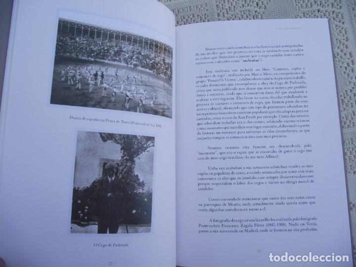 Libros de segunda mano: O CEGO DE PADRENDA. MANUEL PAZ CASTRO. DEPUTACION DE PONTEVEDRA, 2013 - Foto 10 - 227095345