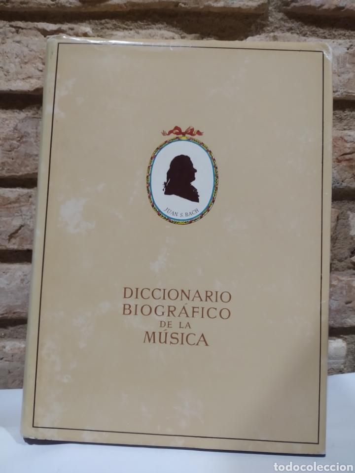 Libros de segunda mano: Diccionario biográfico de la música. Iberia 1986 - Foto 2 - 227276840