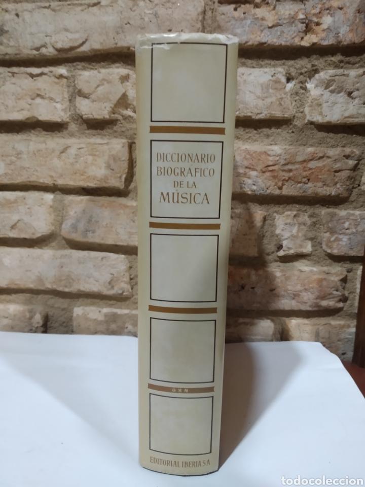 DICCIONARIO BIOGRÁFICO DE LA MÚSICA. IBERIA 1986 (Libros de Segunda Mano - Bellas artes, ocio y coleccionismo - Música)