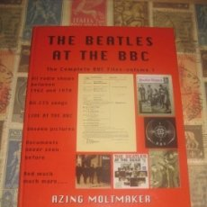 Libros de segunda mano: THE BEATLES AT THE BBC THE COMPLETE BBC FILES VOLUME 1 EXCELENTE CONDICION LEA DESCRIPCION. Lote 228134190