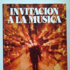Libros de segunda mano: INVITACIÓN A LA MÚSICA. MANUEL VALLS, ROS-MARBÁ, XAVIER MONTSALVATGE, PÉREZ DE ARTEAGA, MARTORELL. Lote 229845785