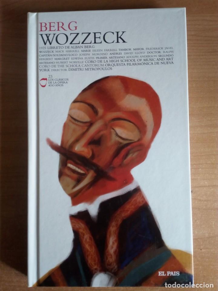 WOZZECK (LIBRETO DE ALBAN BERG, BASADO EN GEORG BÜCHNER + 2 CD) - BERG, ALBAN (Libros de Segunda Mano - Bellas artes, ocio y coleccionismo - Música)