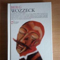 Libros de segunda mano: WOZZECK (LIBRETO DE ALBAN BERG, BASADO EN GEORG BÜCHNER + 2 CD) - BERG, ALBAN. Lote 231963625