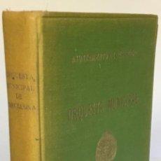 Libros de segunda mano: ORQUESTA MUNICIPAL DE BARCELONA. CONCIERTOS POPULARES. PROGRAMAS. 1947-48.. Lote 232127940
