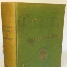 Libros de segunda mano: ORQUESTA MUNICIPAL DE BARCELONA. CONCIERTOS POPULARES. PROGRAMAS. 1944-46.. Lote 232261290