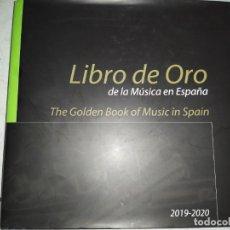 Libros de segunda mano: LIBRO DE ORO DE LA MÚSICA EN ESPAÑA 2019-2020. Lote 232643000