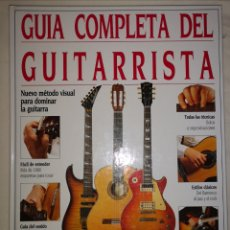 Libros de segunda mano: GUÍA COMPLETA DEL GUITARRISTA. RICHARD CHAPMAN. Lote 232923880