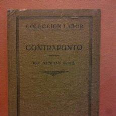 Libri di seconda mano: CONTRAPUNTO. PROF. STEPHAN KREHL. EDITORIAL LABORAL.. Lote 233271100