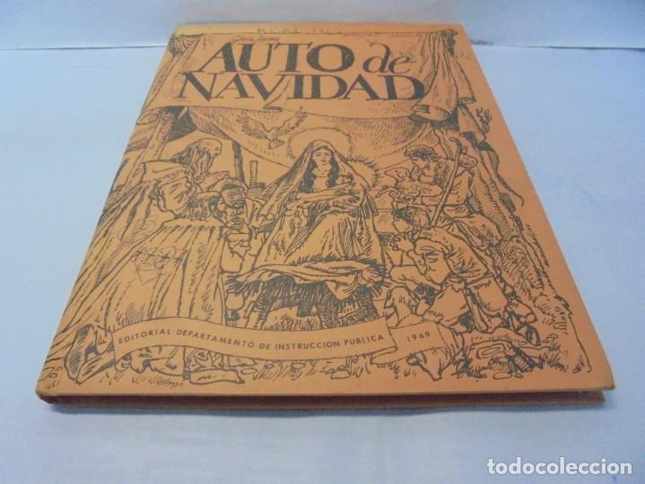 Libros de segunda mano: AUTO DE NAVIDAD. GLORIA ARJONA. EDITORIAL DEPARTAMENTO DE INSTRUCCION PUBLIVA. 1969 - Foto 3 - 236761355
