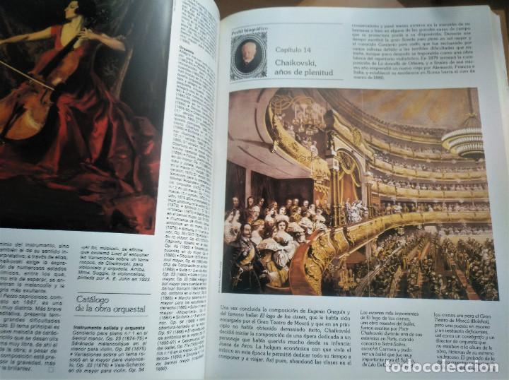 Libros de segunda mano: Los Grandes Compositores, 5 tomos + Instrumentos, Intérpretes y Orquestas, Salvat, 1983 - Foto 5 - 236801825