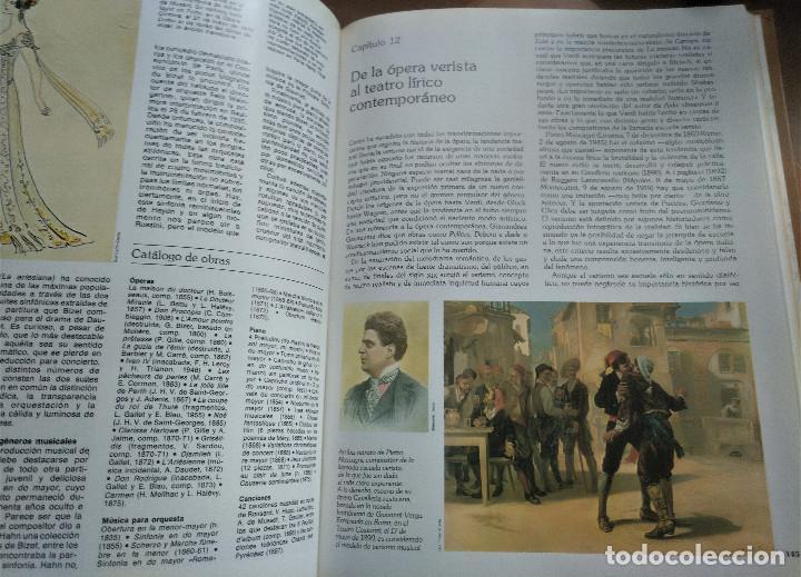 Libros de segunda mano: Los Grandes Compositores, 5 tomos + Instrumentos, Intérpretes y Orquestas, Salvat, 1983 - Foto 6 - 236801825