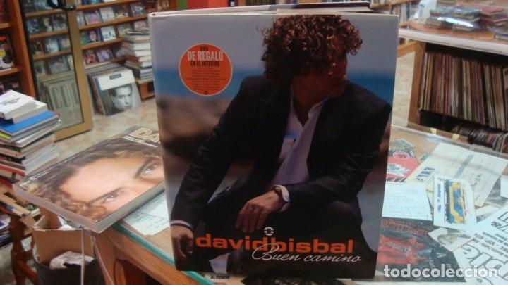 DAVID BISBAL BUEN CAMINO CON DVD EN EL INTERIOR, MEDIALIVE (Libros de Segunda Mano - Bellas artes, ocio y coleccionismo - Música)