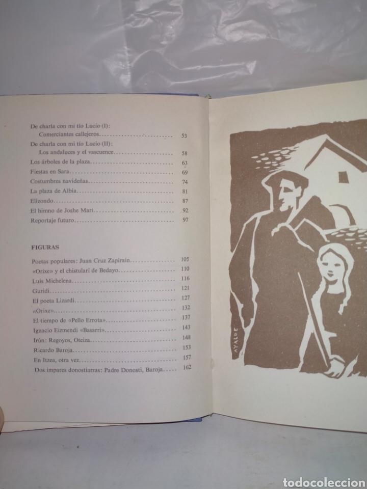 Libros de segunda mano: Antonio Valverde(Ayalde).Con fondo de chistu.Itxaropeba - Foto 3 - 237202340