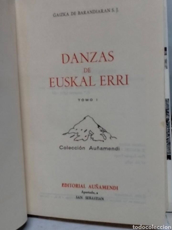 Libros de segunda mano: Gaizka de Barandiarán DANZAS DE EUSKAL ERRI.(2 tomos)Tomo 1y3. Itxaropena - Foto 2 - 237209615