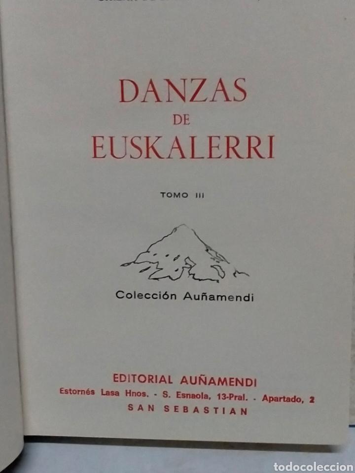 Libros de segunda mano: Gaizka de Barandiarán DANZAS DE EUSKAL ERRI.(2 tomos)Tomo 1y3. Itxaropena - Foto 3 - 237209615