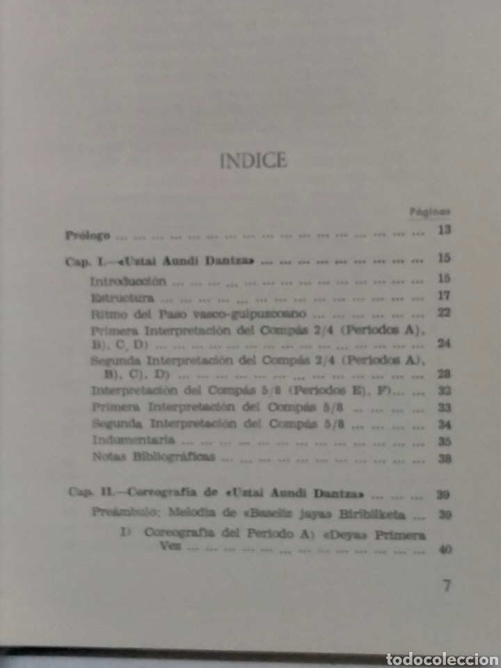 Libros de segunda mano: Gaizka de Barandiarán DANZAS DE EUSKAL ERRI.(2 tomos)Tomo 1y3. Itxaropena - Foto 6 - 237209615