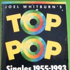Libros de segunda mano: TOP POP SINGLES 1955-1993 -BILLBOARD- (JOEL WHITBURN'S). Lote 239461685