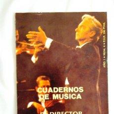 Libros de segunda mano: EL DIRECTOR DE SU ORQUESTA. Lote 240034740