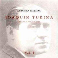Livros em segunda mão: JOAQUIN TURINA SU OBRA COMPLETA PARA PIANO 3 TOMOS. Lote 240855485