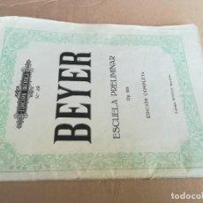 Libros de segunda mano: EDICION IBERICA / BEYER - PIANO, NIÑOS / 49 - OP 101 - BOILEAU / Z102. Lote 243079795