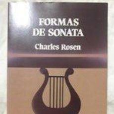 Libros de segunda mano: FORMAS DE SONATA / CHARLES ROSEN / EDI. LABOR / 1ª EDICIÓN 1987 / CON SELLO DE INTERCAMBIO EN LA ÚLT. Lote 243521380