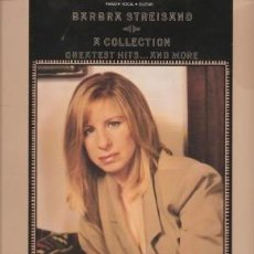 Libros de segunda mano: BARBARA STREISAND A COLLECTION GREATEST HITS ... AND MORE - OKUN, MILTON (EDITED) 1990. Lote 243806400