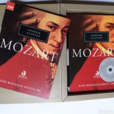 Libros de segunda mano: MOZART ANDREW STEPTOE . GUÍAS MUSICALES ACENTO EMI. Lote 243842940