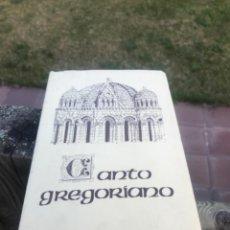 Libros de segunda mano: CANTO GREGORIANO, ZAMORA. Lote 243901690